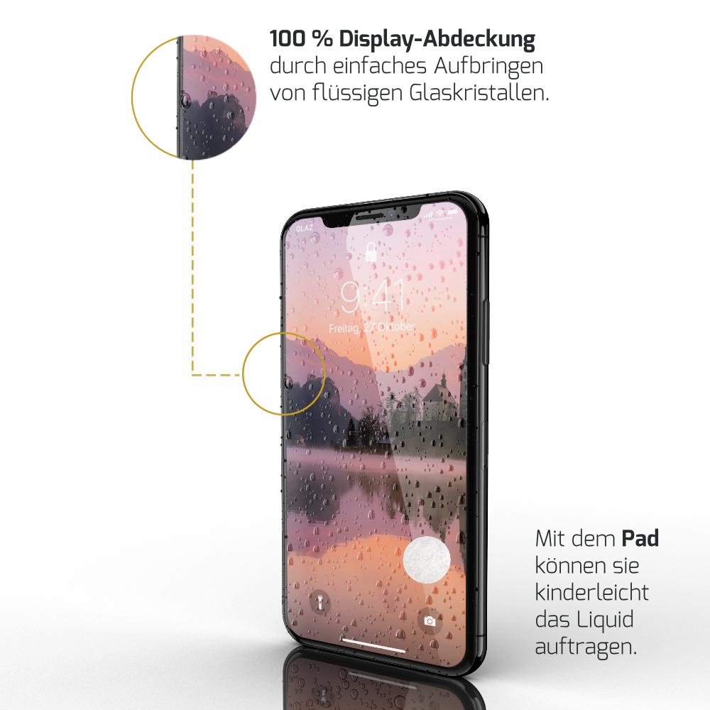iPhone XS Displayschutz