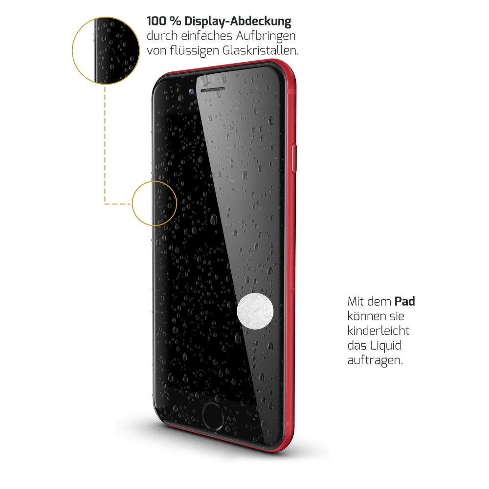 Panzerglas für das iPhone SE 2020