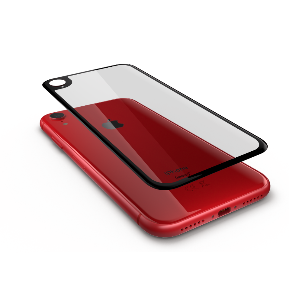 iPhone XR Rückseite Hybridschutz