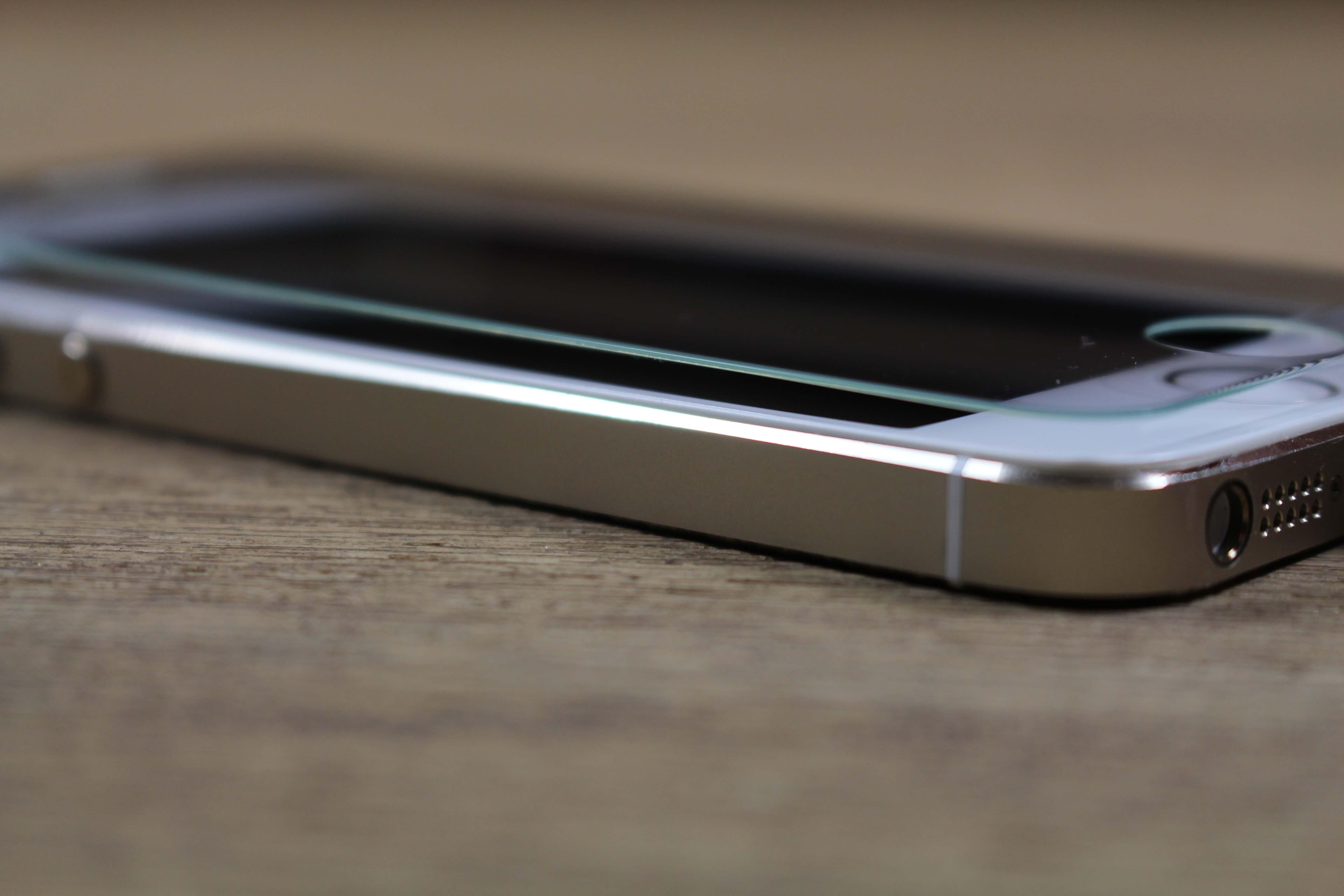 Displayschutz iPhone 5s Seite