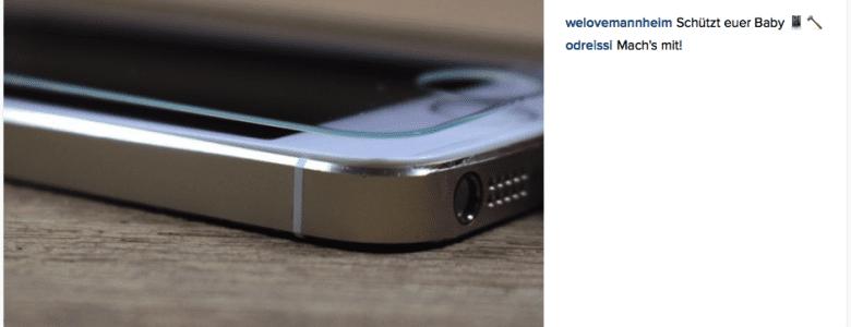 Schutzfolie fürs iPhone – muss das sein?