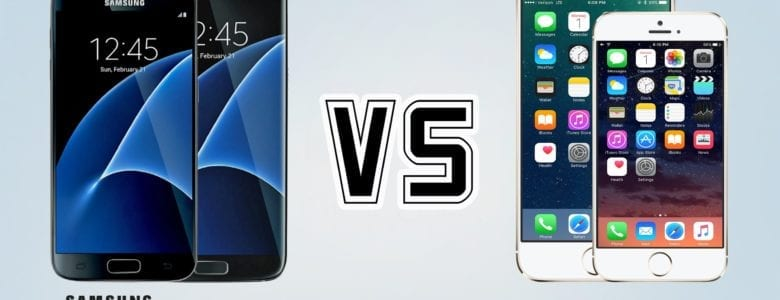 Test iPhone 7 vs. Samsung Galaxy S7 LET'S FIGHT