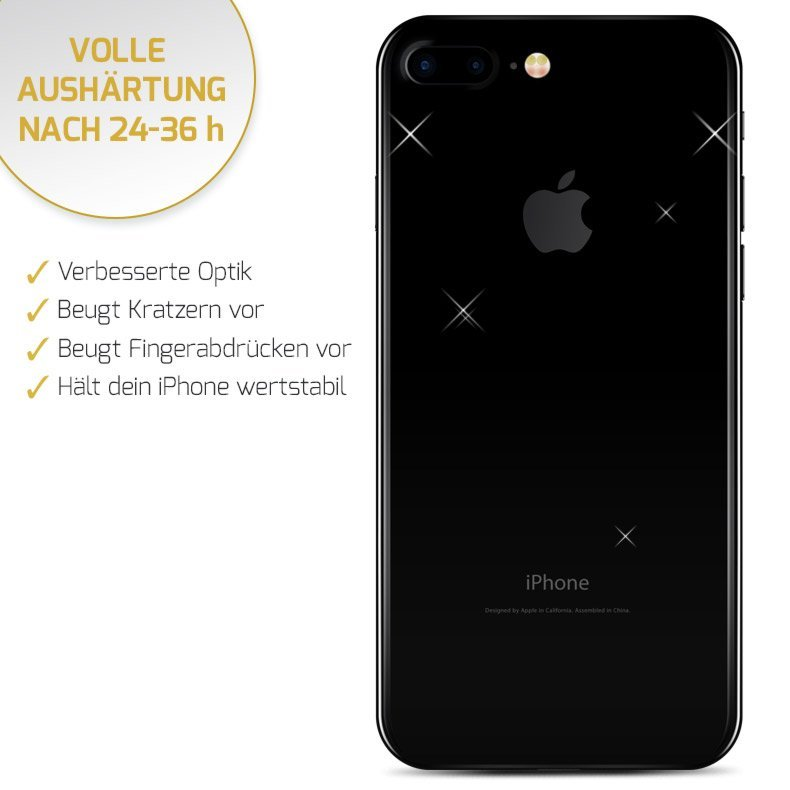 iPhone 7 in diamantschwarz