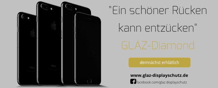 GLAZ Diamond für dein iPhone 7 Diamantschwarz