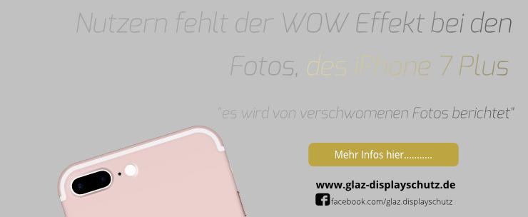 iPhone 7 Plus Kameraprobleme