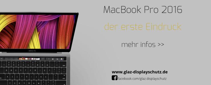 MacBook Pro 2016 im Erstkontakt