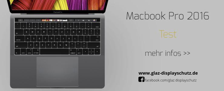 GLAZ MacBook Pro 2016 Test
