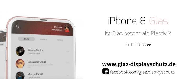 Bevorzugt Welches iPhone 8 Panzerglas kaufen - Glas oder Plastik? DD77