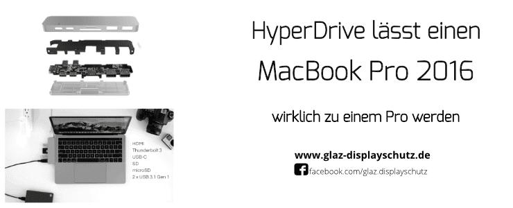 HyperDrive Dock fürs MacBook Pro 2016