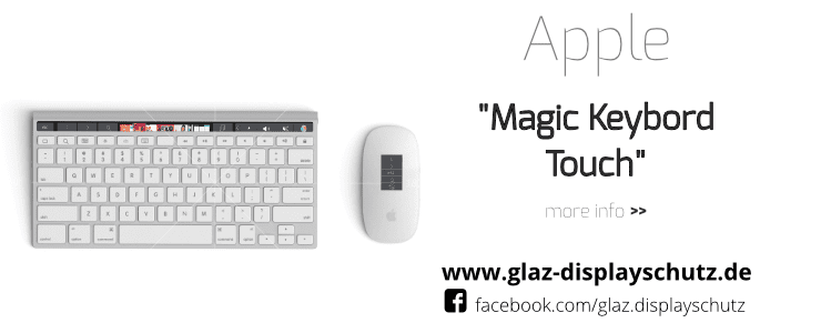 Apple Magic Keyboard mit Touchbar