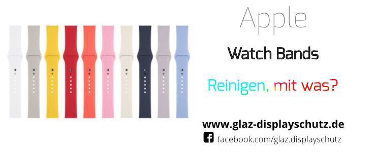 Reinigerpad für das Apple Watch Band