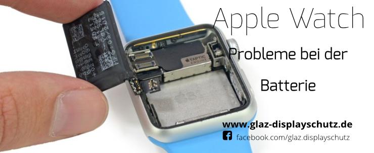 Apple Watch Batterieproblem