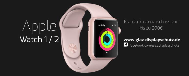 Apple Watch Zuschuss durch Krankenkassen