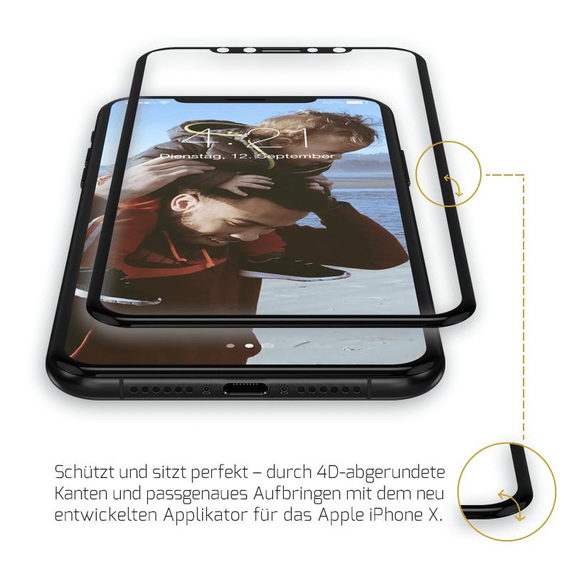iPhone X Panzerglas