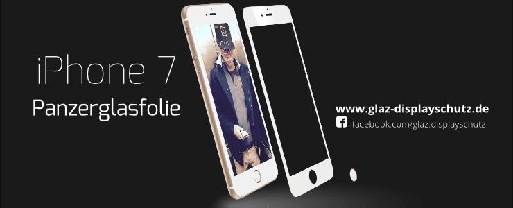 iPhone 7 Panzerglasfolie