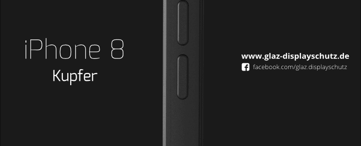 iPhone 8 Kupfer