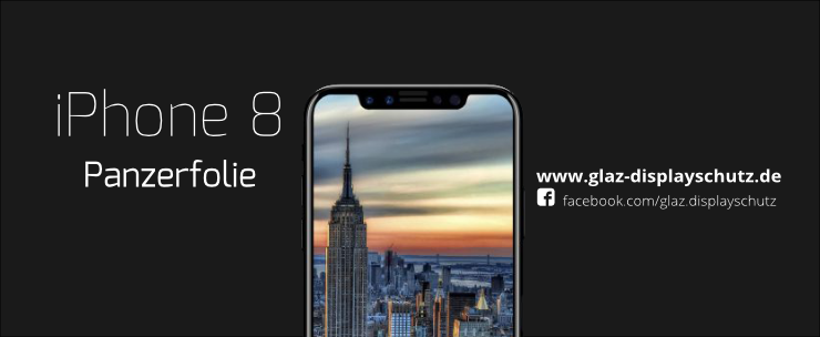 iPhone 8 Panzerfolie