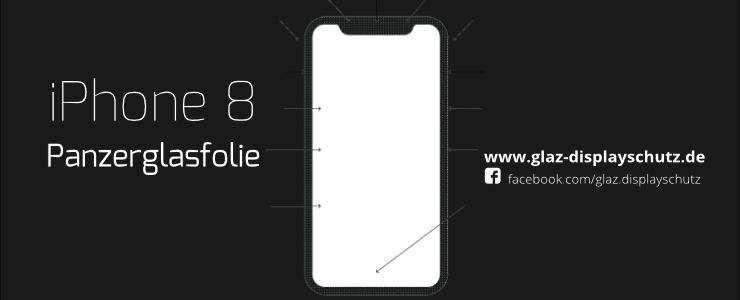 iPhone 8 Panzerglasfolie