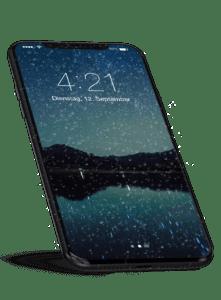 iPhone X Flüssigglas