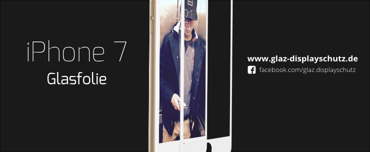 iPhone 7 Glasfolie