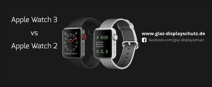 Apple Watch 3 vs Apple Watch 2