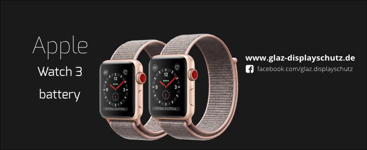 Apple Watch 3 Akku