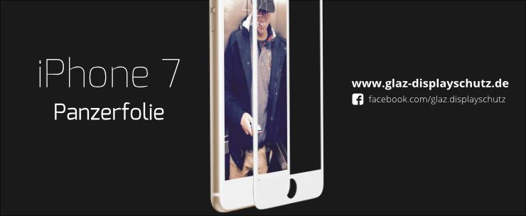 Panzerfolie iPhone 7