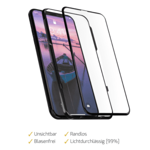 iPhone X Displayschutz 2.0 4D Clear Notch