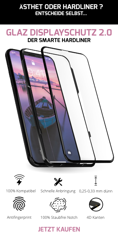 iPhone X Displayschutz 2.0 4D