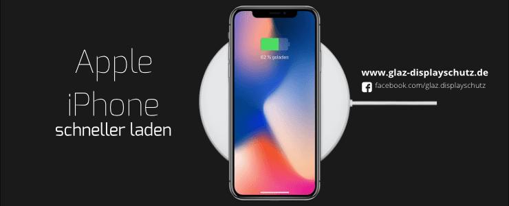 iPhone schneller laden