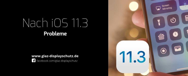 iOS 11.3 Problem