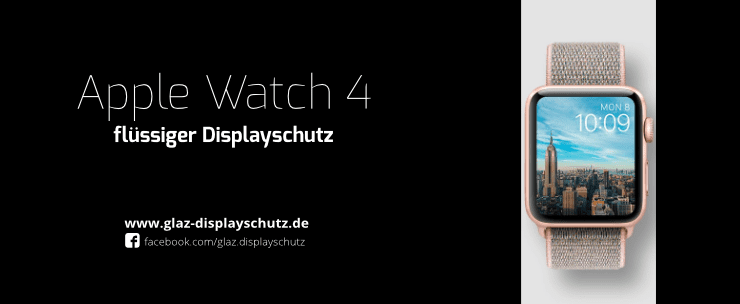 Apple Watch 4 flüssiger Displayschutz