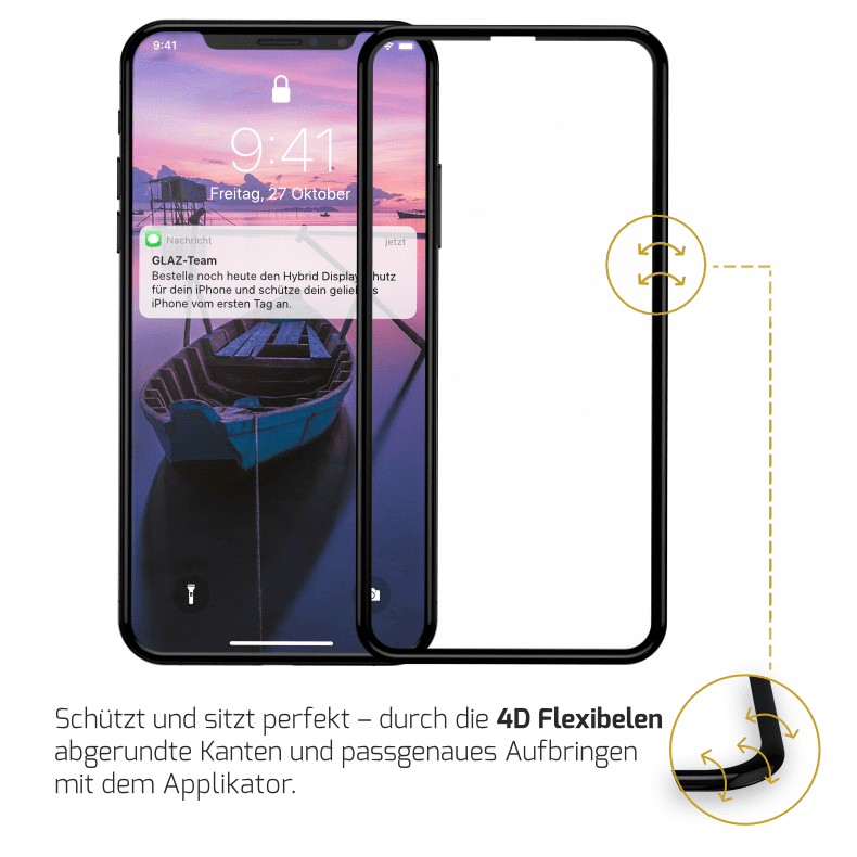 iPhone X Displayschutz