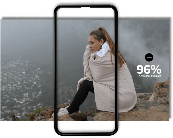 glaz displayschutz hybrid iphone xs panzerglas. Black Bedroom Furniture Sets. Home Design Ideas
