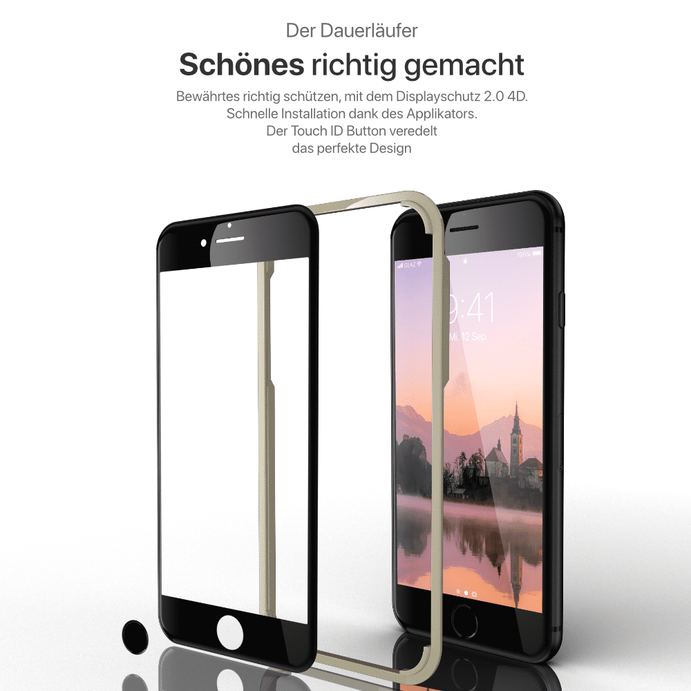 iPhone 7 Displayschutzfolie
