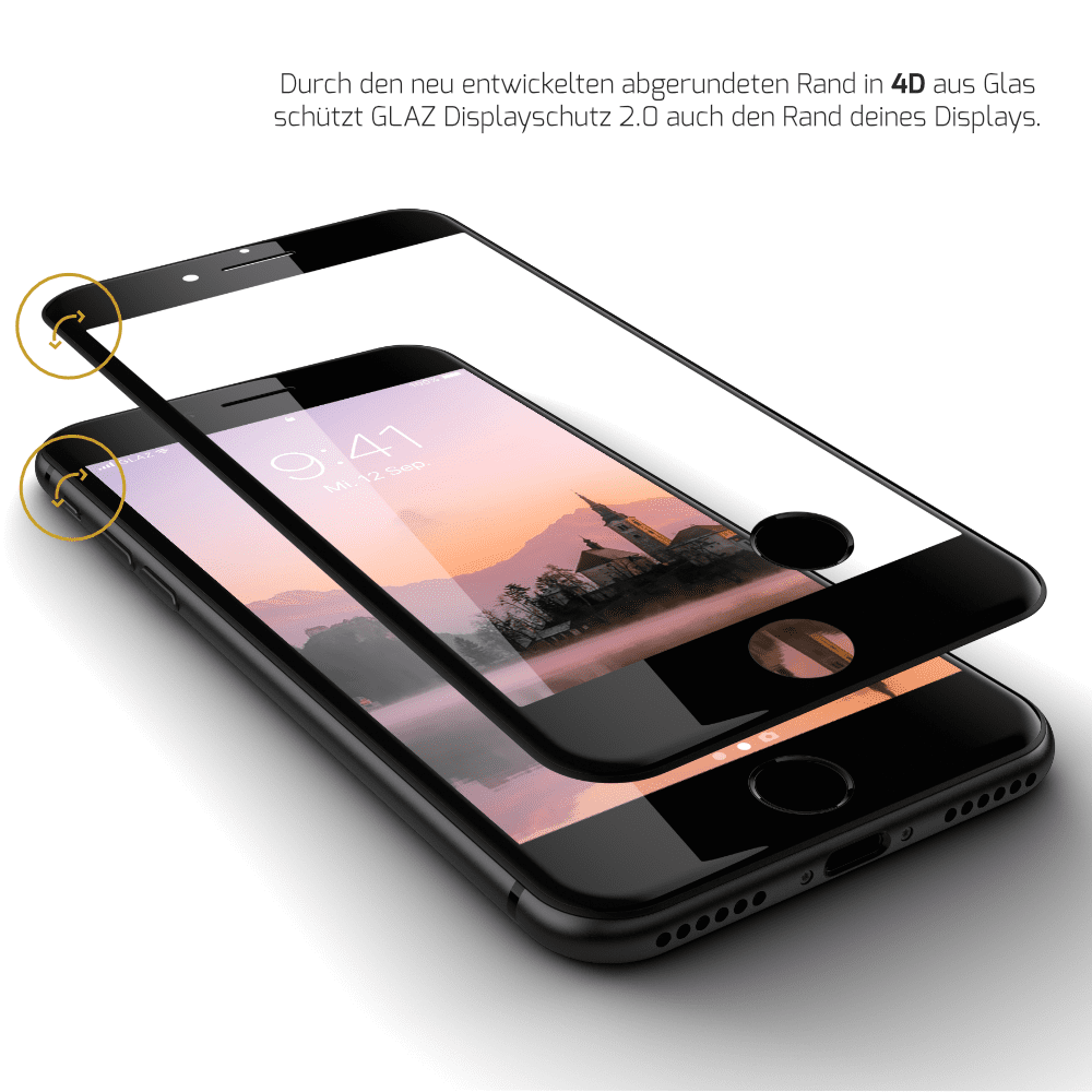 Panzerglas iPhone 8
