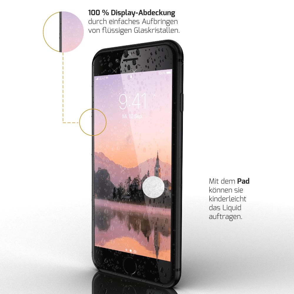 iPhone 8 flüssiger Displayschutz