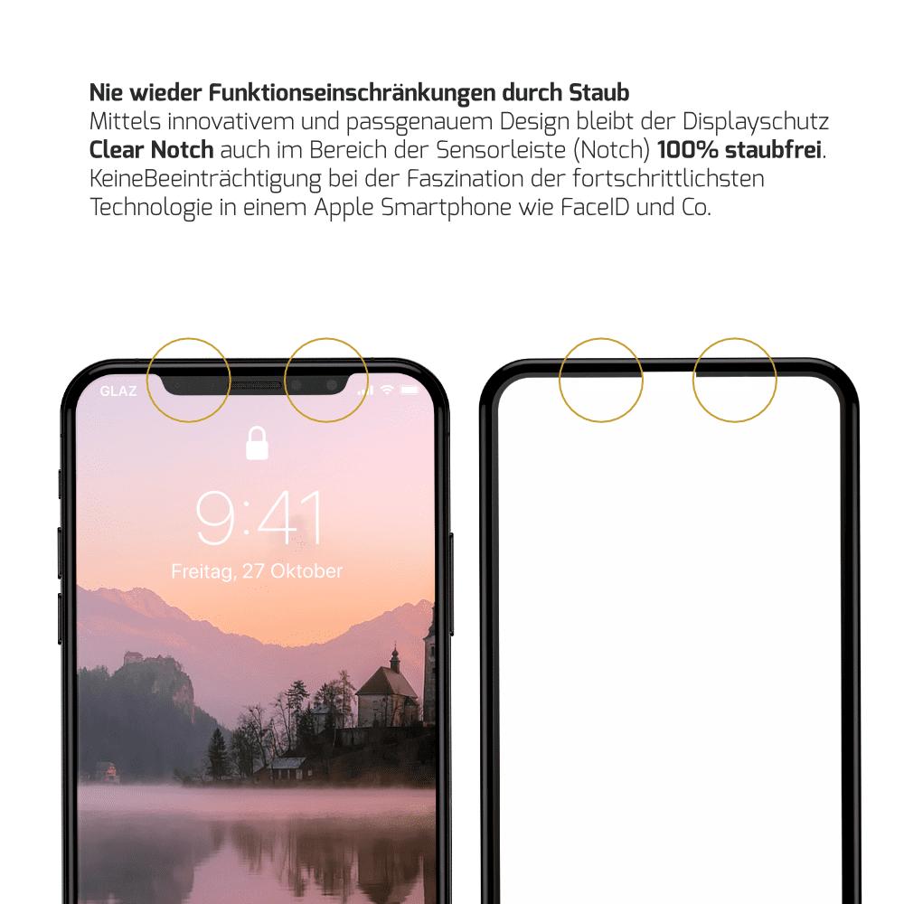 iPhone X Displayschutz