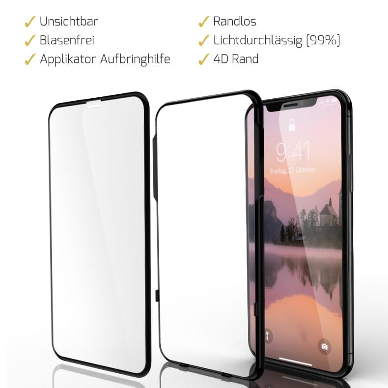 iPhone XS Displayschutzfolie
