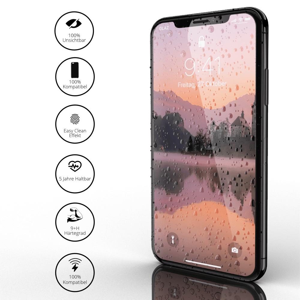 iPhone XS Panzerglas