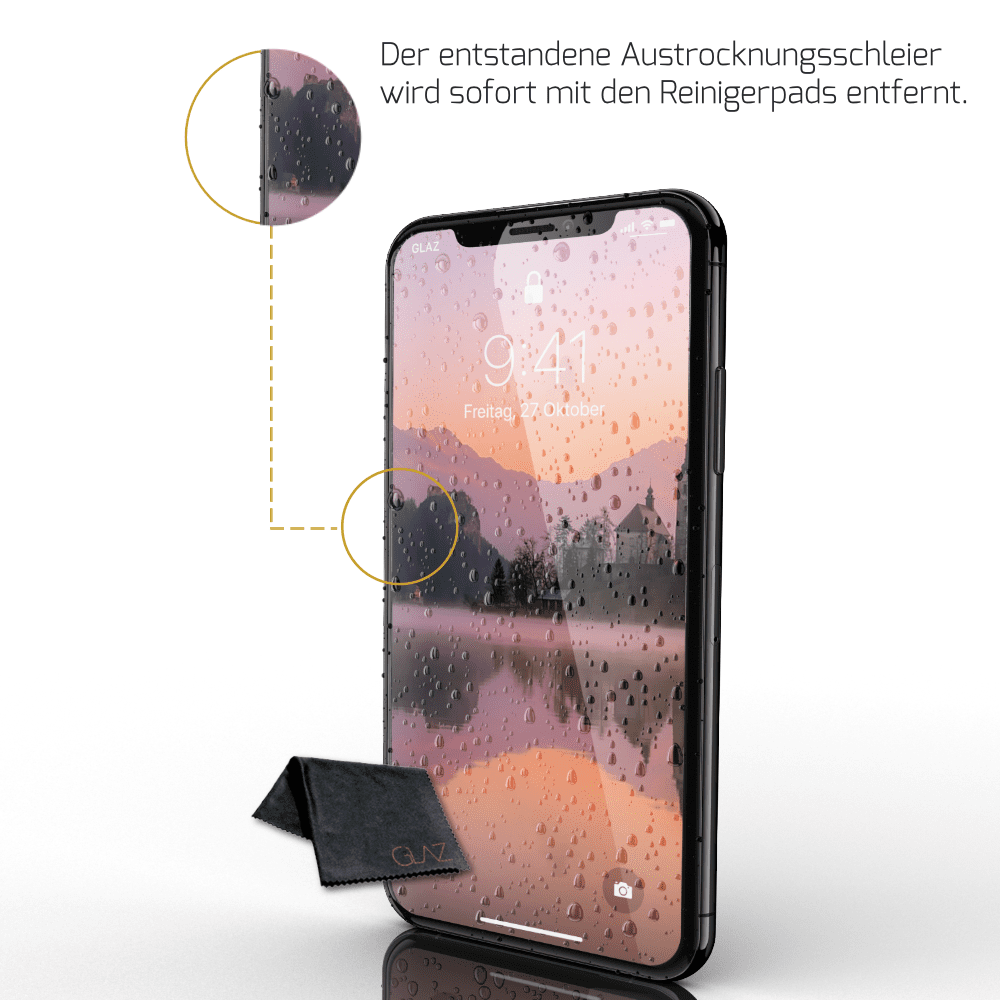 iPhone XS flüssige Schutzfolie