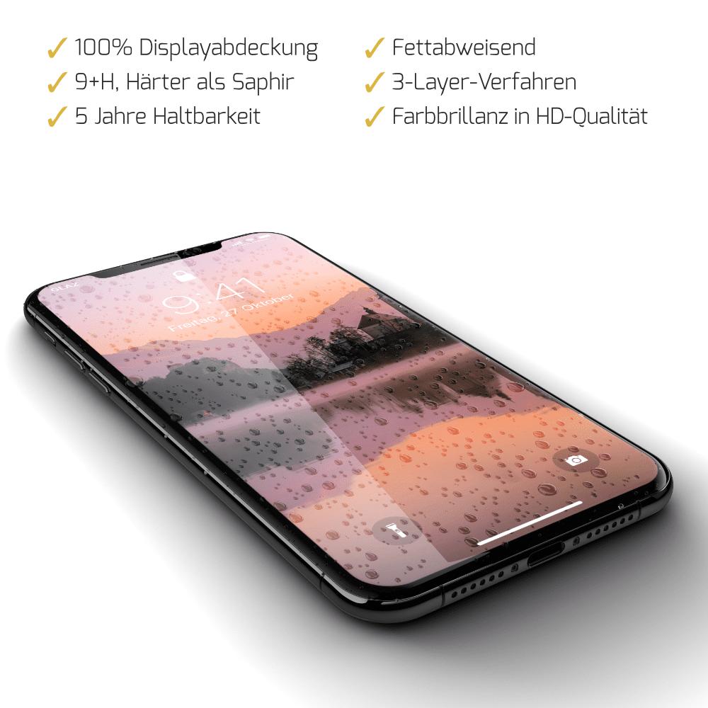 iPhone XS flüssiger Displayschutz