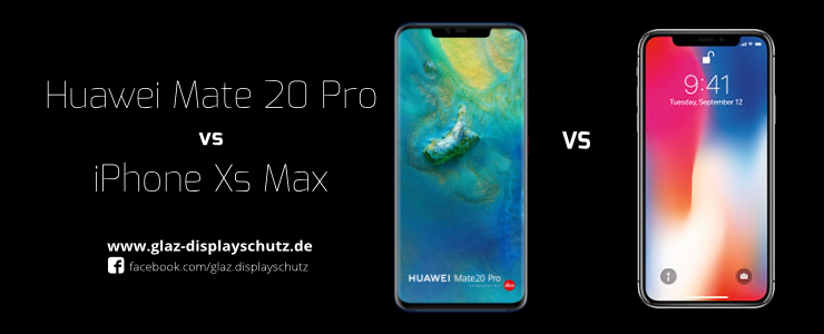 Huawei Mate20 Pro vs iPhone XS Max