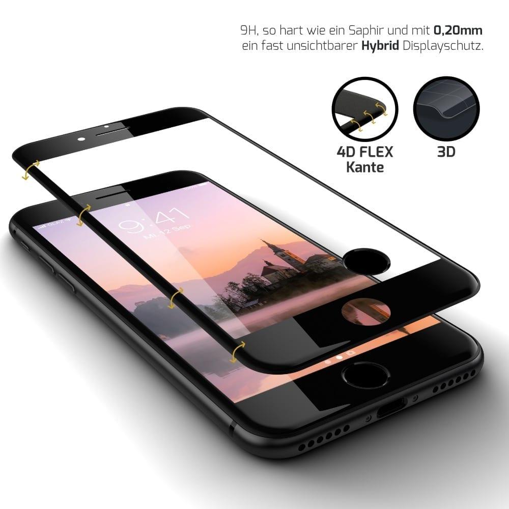 iPhone 6/7/8/SE Panzerglasfolie