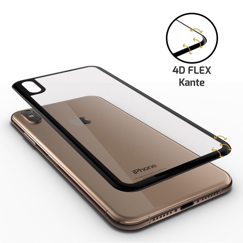 iPhone XS Rückseite Panzerglas