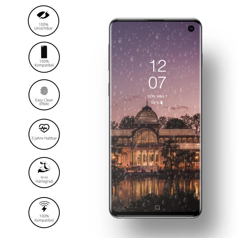 Samsung S10 Displayschutz