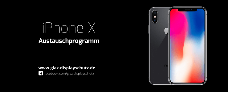 Austauschprogramm iPhone X