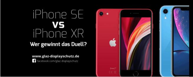 iPhone SE vs. iPhone XR