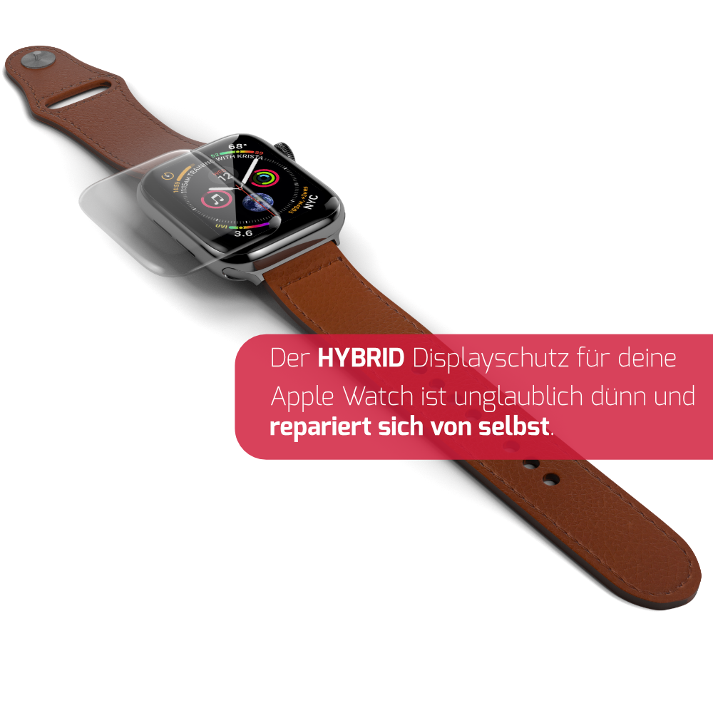 Apple Watch Displayschutz Hybrid