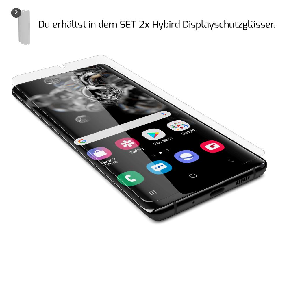 Samsung S20 Displayschutzfolie Hybrid